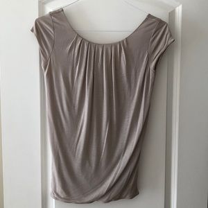 Club Monaco blouse top open in the back M like new